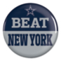 Dallas Cowboys Beat New York Button