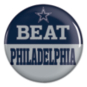 Dallas Cowboys Beat Philadelphia Button