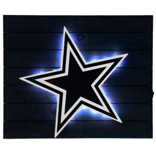 Dallas Cowboys Lit Wall Decor