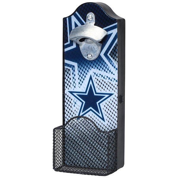 Dallas Cowboys Lit Bottle Opener Cap
