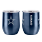 Dallas Cowboys 16 oz. Ultra Stemless Wine Tumbler
