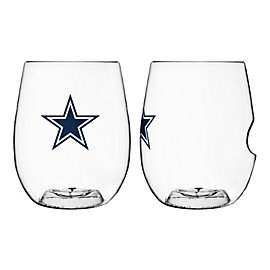 Dallas Cowboys 16 oz On the Go Wine Glass