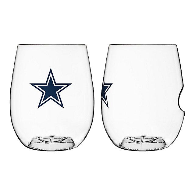Dallas Cowboys 16 oz On the Go Wine Glass