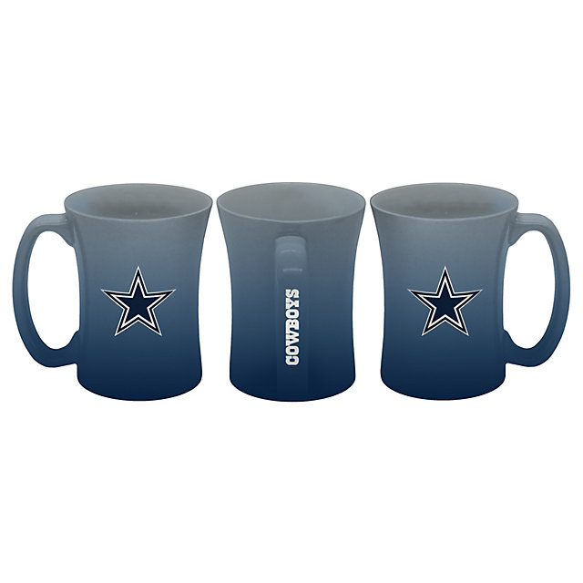 Dallas Cowboys Sculpted Ombre Mug