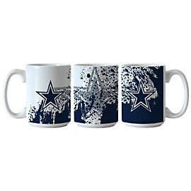 Dallas Cowboys Splatter Mug