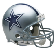 Dallas Cowboys Riddell Authentic Helmet