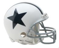 Dallas Cowboys Mini Throwback Helmet