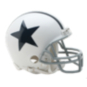 Dallas Cowboys Mini Throwback Helmet