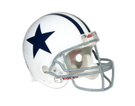 Dallas Cowboys Replica Throwback Helmet