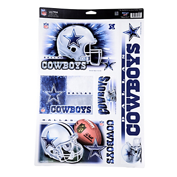 Dallas Cowboys Ultra Decal Sheet