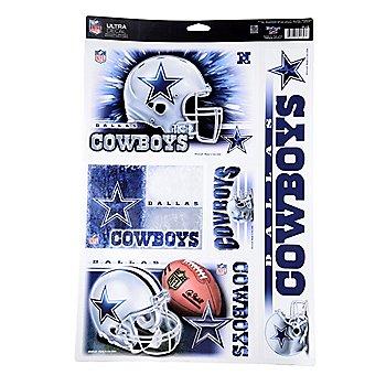 Dallas Cowboys Ultra Decal Sheet