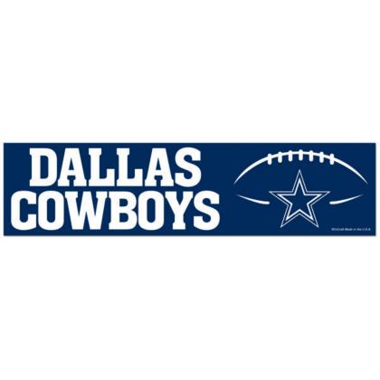 Dallas cowboys bumper sticker automotive accessories cowboys catalog dallas cowboys pro shop