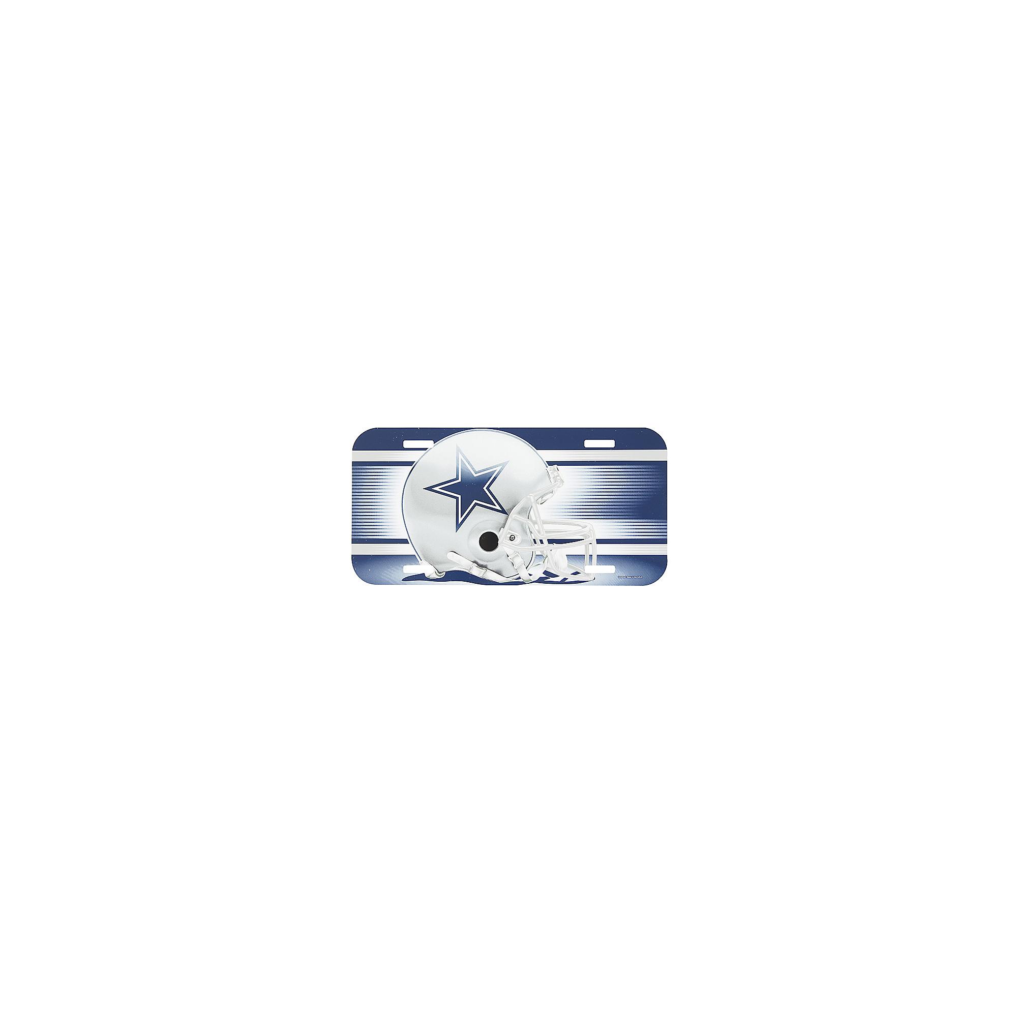 Dallas Cowboys License Plate