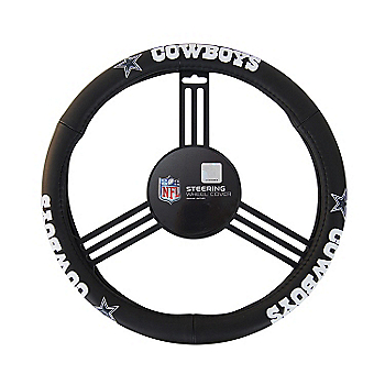 Dallas Cowboys Leather Steering Wheel Cover