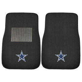 Dallas Cowboys Embroidered Carpet Car Mat Set