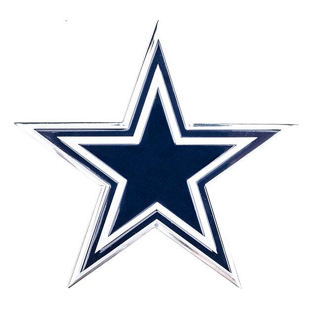 Dallas Cowboys Color Car Emblem