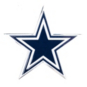 Dallas Cowboys Color Car Emblem