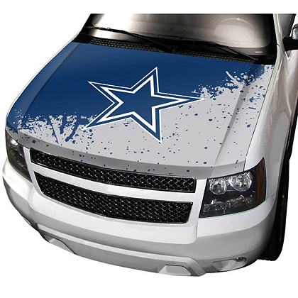 Dallas Cowboys Fabric Hood Cover   Automotive   Accessories ...