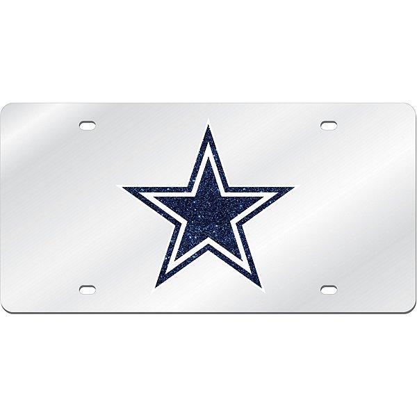 Dallas Cowboys Mirror License Plate