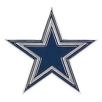 Dallas Cowboys Chrome Metal Star Emblem