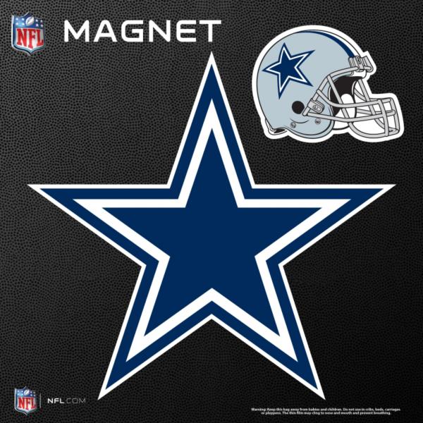 Dallas Cowboys Star and Helmet Magnets