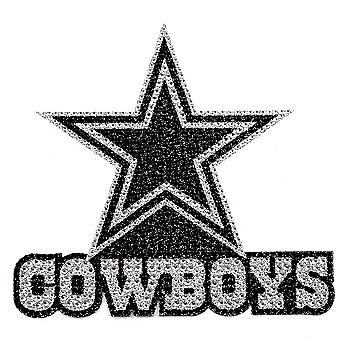 Dallas Cowboys Bling Star Emblem