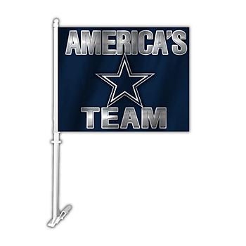 Dallas Cowboys America's Team 2-Sided Car Flag