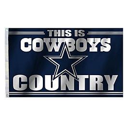 Dallas Cowboys 3x5 Cowboys Country Flag