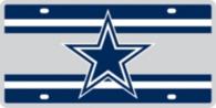 Dallas Cowboys Super Stripe License Plate