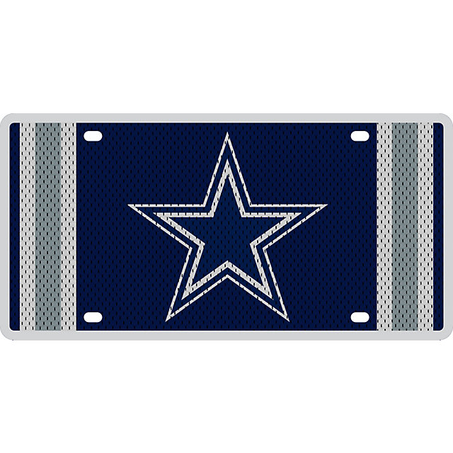 Dallas Cowboys Jersey License Plate