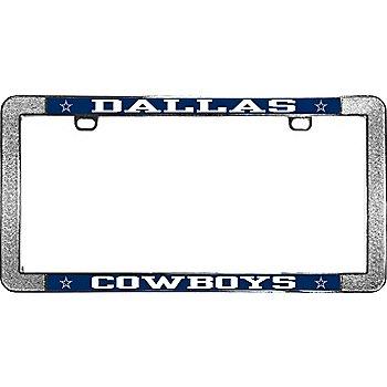 Dallas Cowboys Thin Rim Metal License Plate Frame