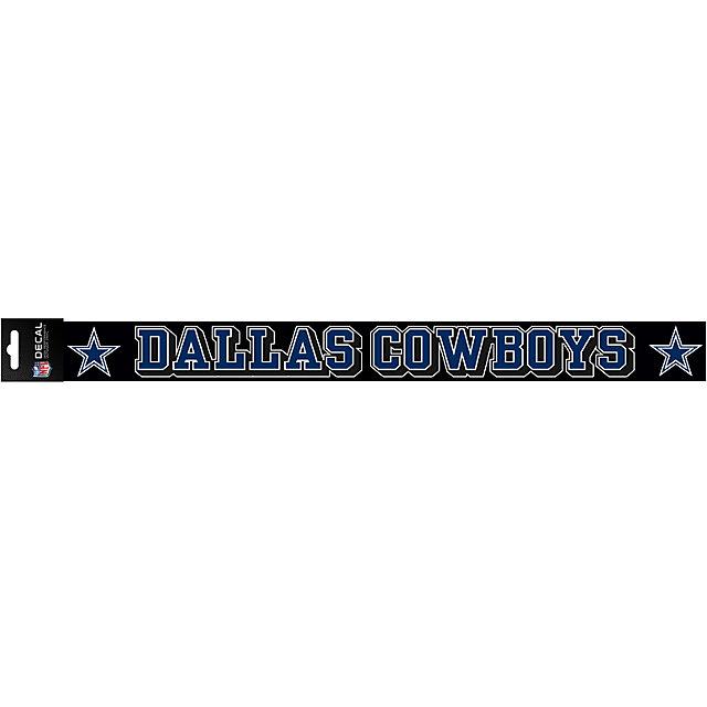 Dallas Cowboys 2x19 Full Color Decal Strip