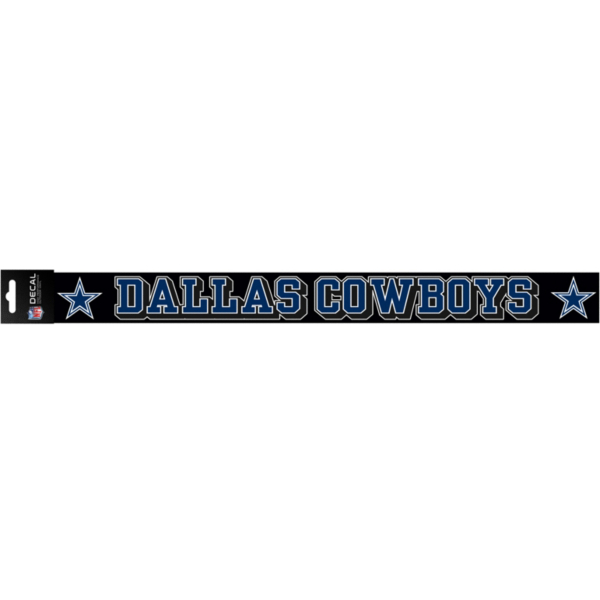 Dallas Cowboys 2x19 Full Color Strip Decal