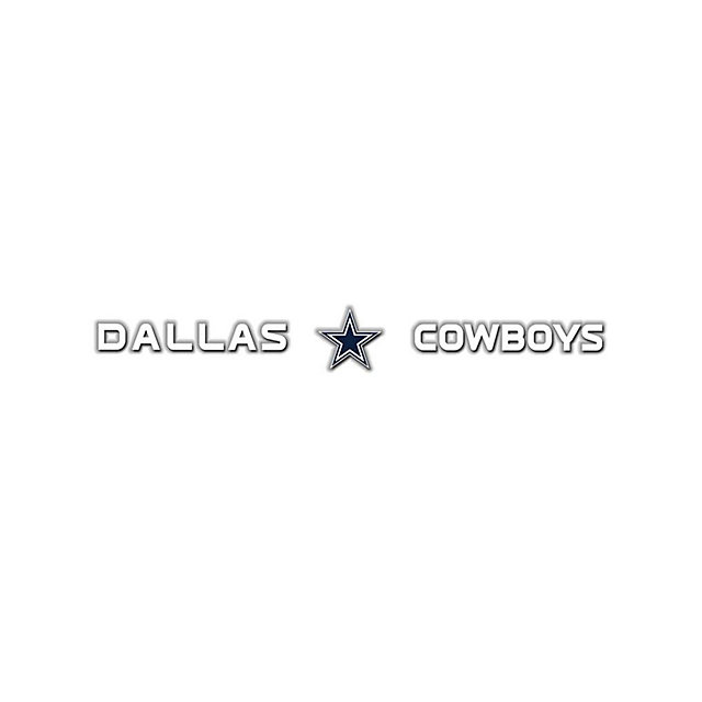Dallas Cowboys Front and Center Decal