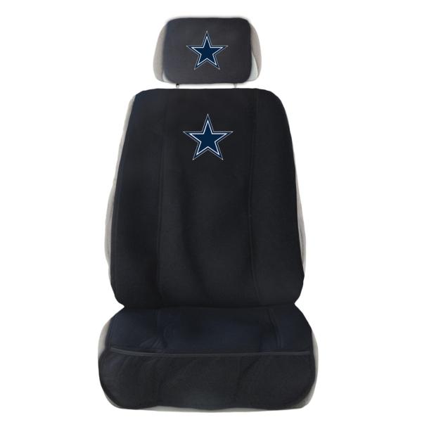 Dallas Cowboys Auto Seat Cover and Head Rest