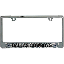Dallas Cowboys Camo License Plate Frame