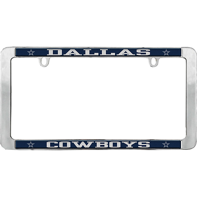 dallas cowboys value metal license plate frame - Metal License Plate Frames