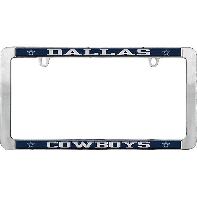 Dallas Cowboys Value Metal License Plate Frame   Automotive ...