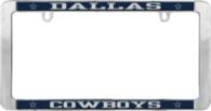 Dallas Cowboys Value Metal License Plate Frame
