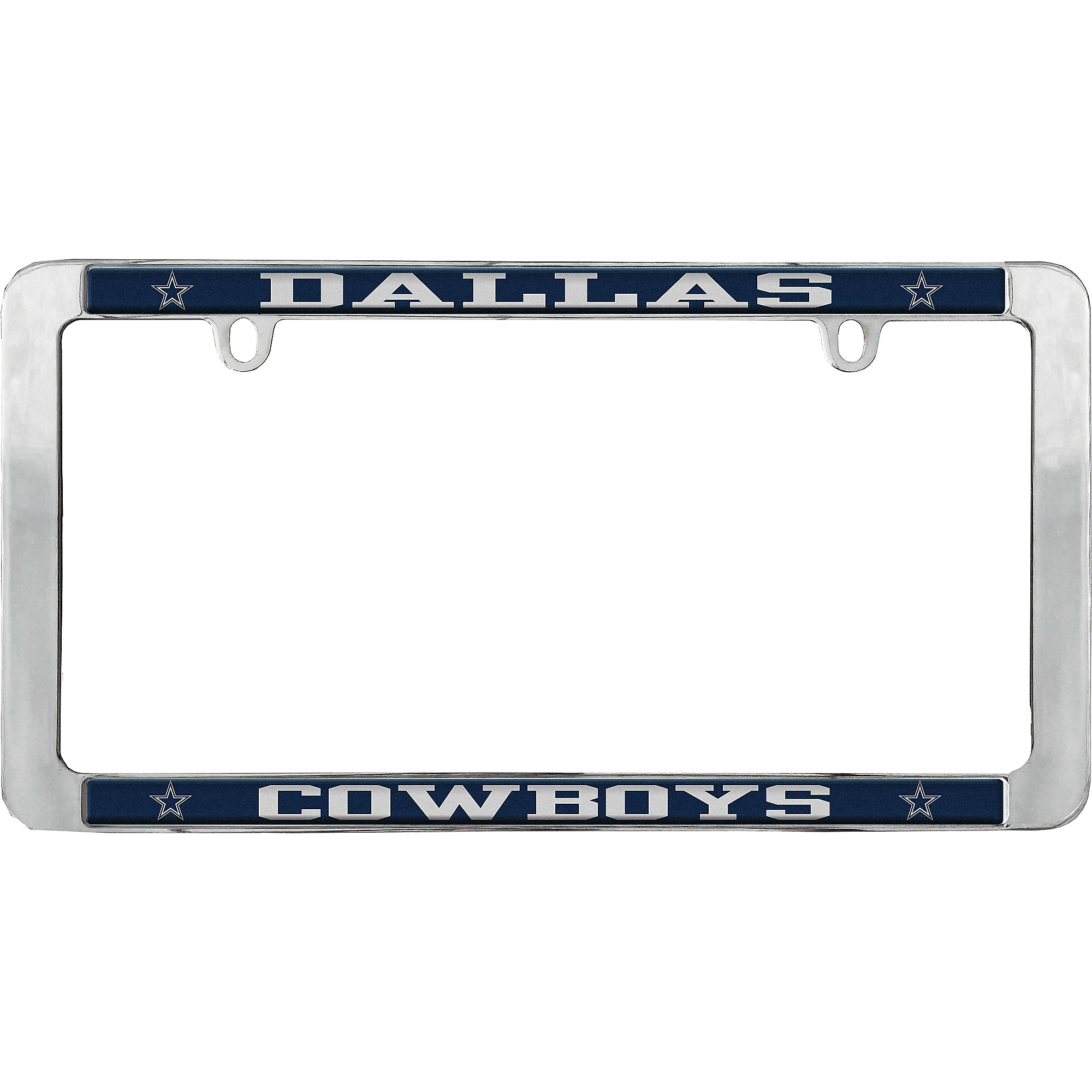 Dallas Cowboys Value Metal License Plate Frame