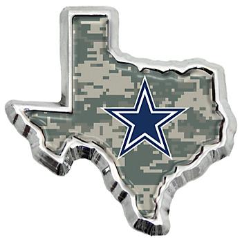 Dallas Cowboys Digital Camo State of Texas Emblem