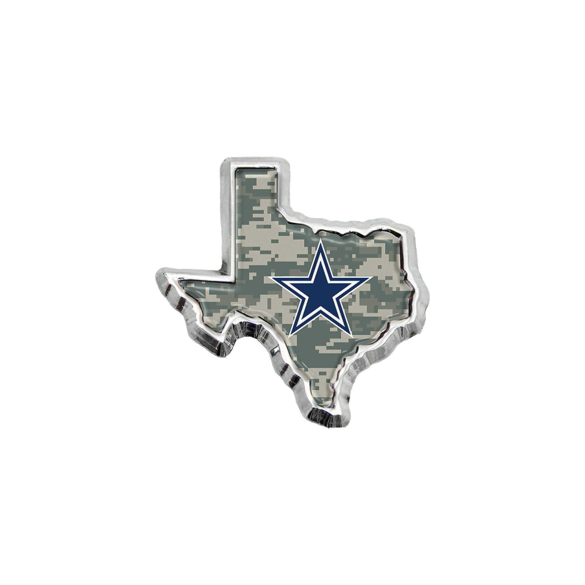 Dallas Cowboys Digital Camo State of Texas Emblem