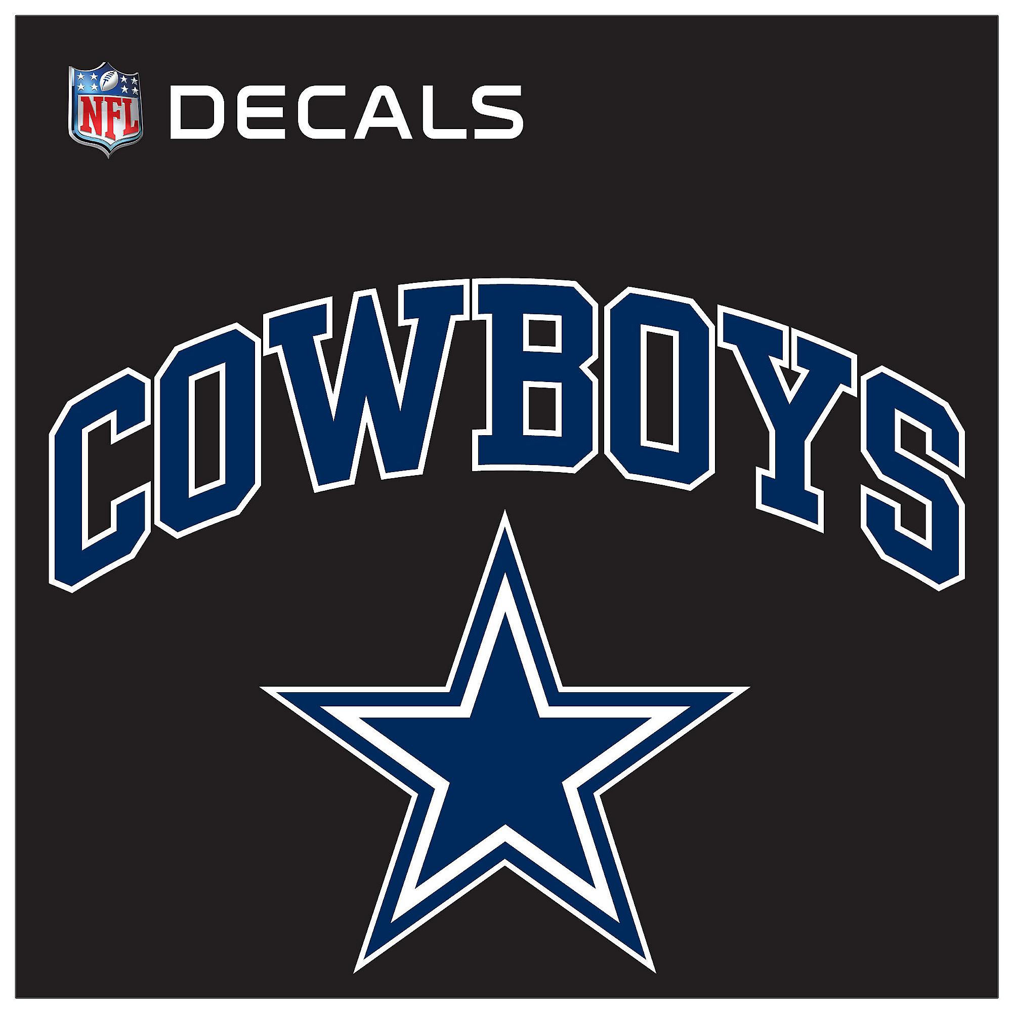 Dallas Cowboys 12x12 Arched Decal  5fde846f6