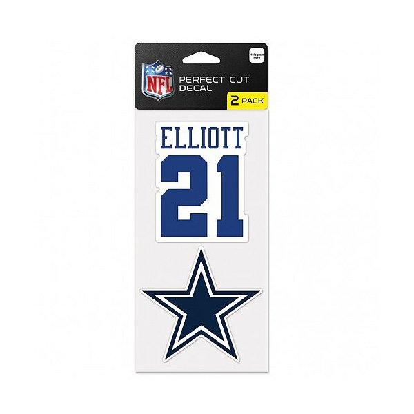 Dallas Cowboys Ezekiel Elliot 2-Pack Perfect Cut Decal
