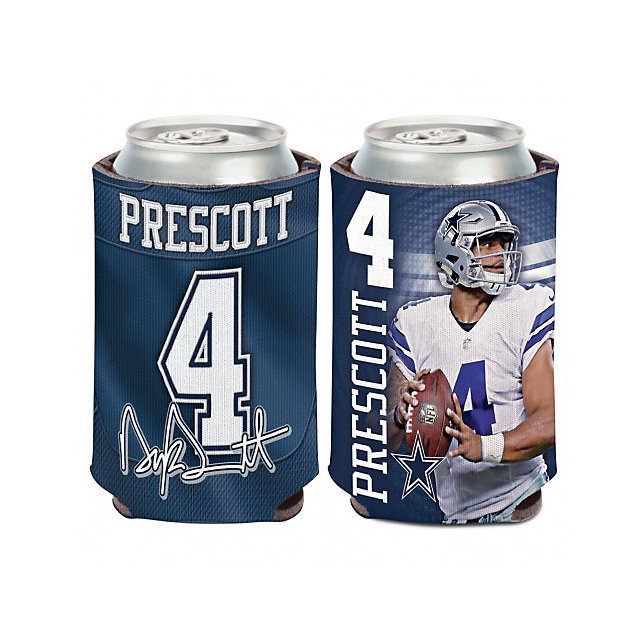 Dallas Cowboys Dak Prescott Koozie