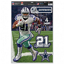 Dallas Cowboys 11 x 17 Ezekiel Elliott Multi-Use Decal