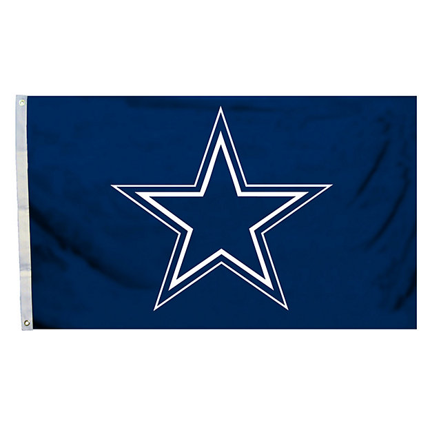 Dallas Cowboys 3x5 Logo Flag