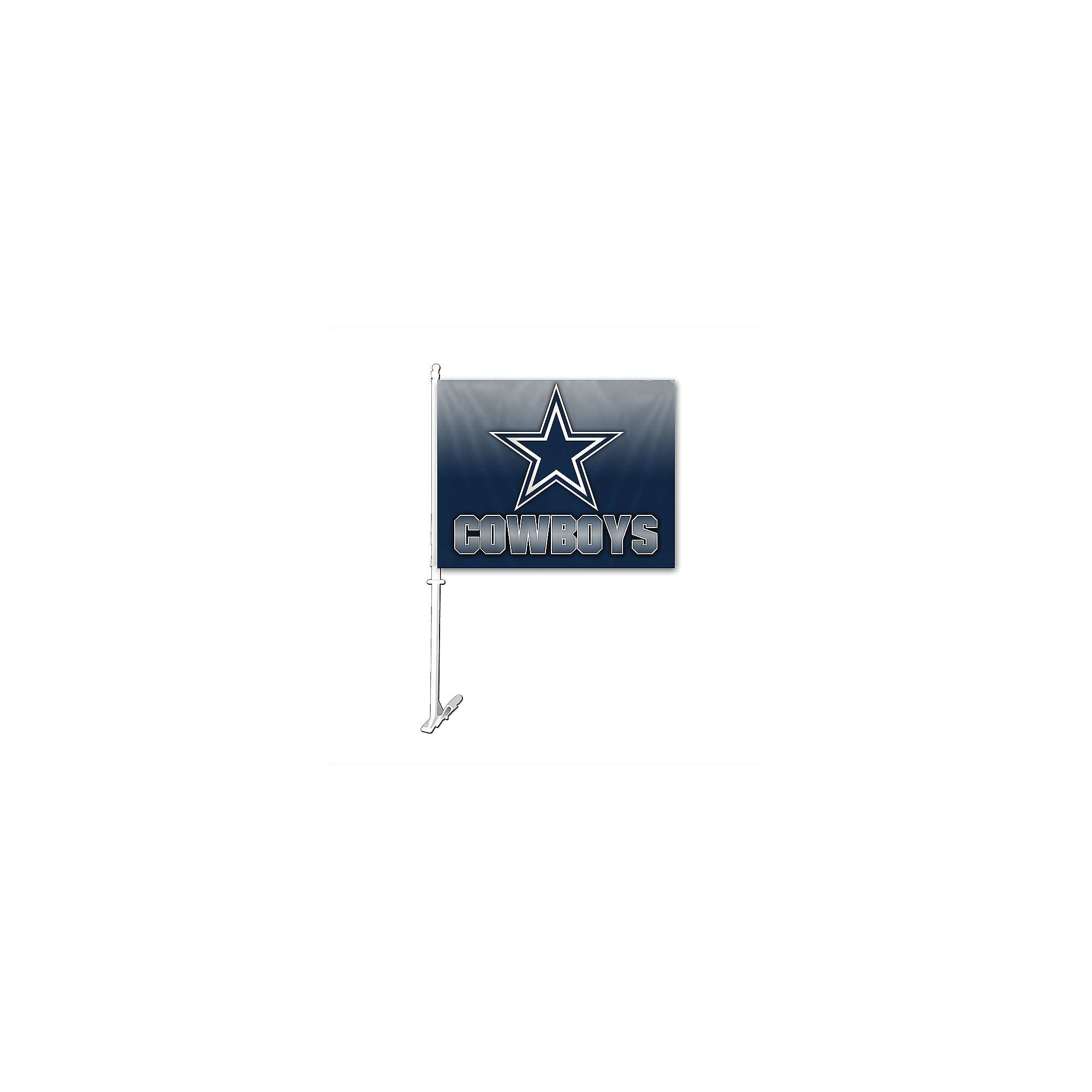 Dallas Cowboys Ombre Car Flag