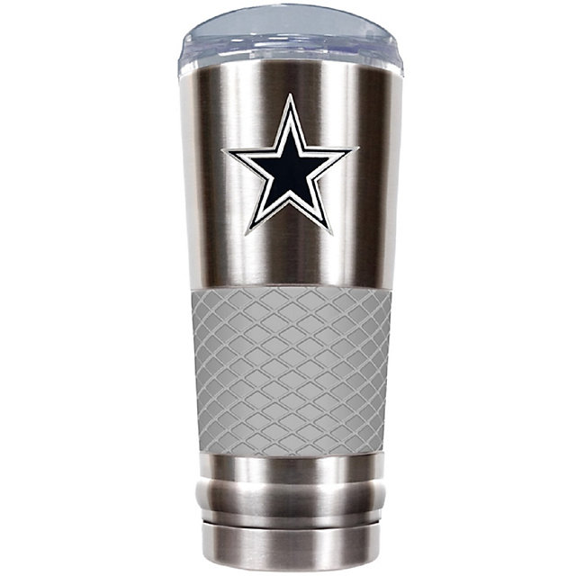 Dallas Cowboys The Draft 24 oz Gray Vacuum Insulated Cup