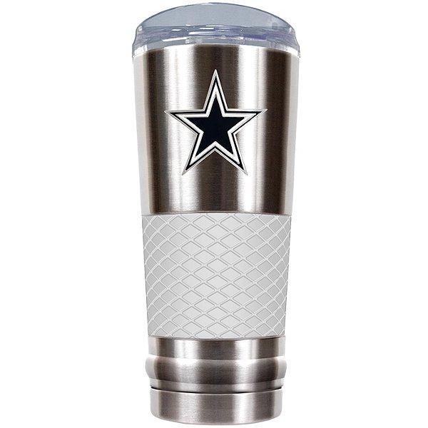 Dallas Cowboys The Draft 24 oz White Vacuum Insulated Tumbler